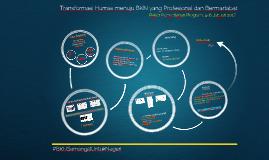 Transformasi Humas Menuju BKN yang Profesional dan Bermartabat