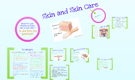 Copy of Skin and Skin Care