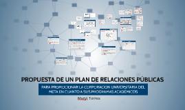 Copy of PROPUESTA DE UN PLAN DE RELACIONES PÚBLICAS