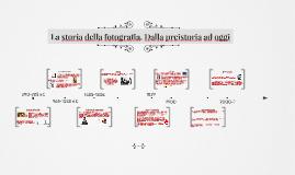 Copy of La storia della fotografia. Dalla preistoria ad oggi