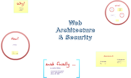 Web Architecture & Security 2016