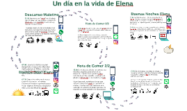 Copy of Un día en la vida de Elena