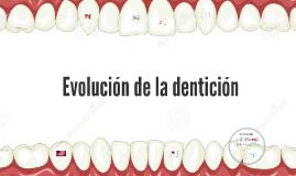 Copy of Evolución de la dentición