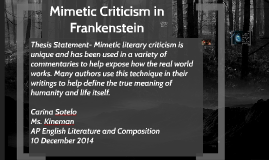 Mimetic Literary Criticism