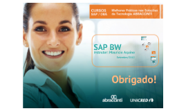 Copy of Curso SAP / BW