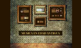 La Música en la Edad Antigua