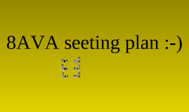 grade 8 AVA seating plan