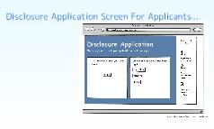 Disclosure Application