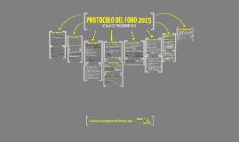 Protocolo Foro 2012