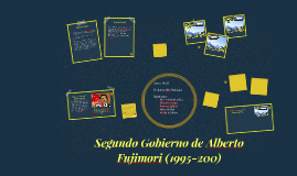 Copy of Segundo Gobierno de Alberto Fujimori (1995-200)