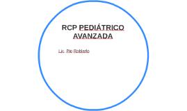 RCP PEDIÁTRICO