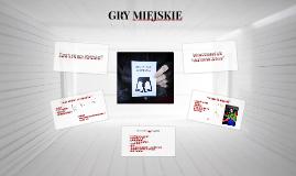 GRY MIEJSKIE