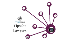 WordPress Tips for Lawyers