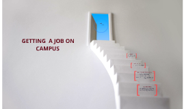 Getting a Job on Campus