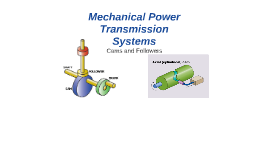 mechanical power transmission system pdf