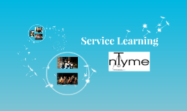 Service Learning Presentation