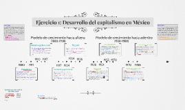 Ejercicio 1: Desarrollo del capitalismo en México