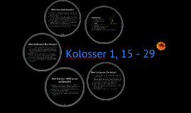 Kolosser 1, 15 - 29 Teil 4