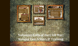 Volunteer Units of the Civil War: Raising Two Armies & Train