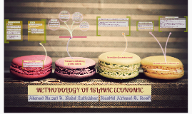 METHODOLOGY OF ISLAMIC ECONOMIC