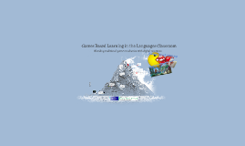 Games Based Learning in the Languages Classroom