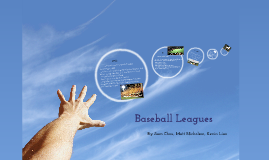 Copy of Baseball Leagues