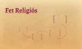 Fet Religiós