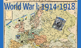 Copy of Year 8 - World War One 1914-1918