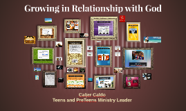 Growing in Relationship with God