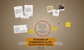 Copy of Declaration of Independence vs. the Social Contract Theory