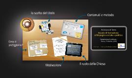 Presentazione V edizione SFISP
