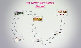 winter sport centre Oberhof