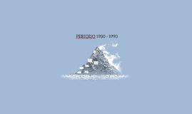 PERIODO 1980 - 1990