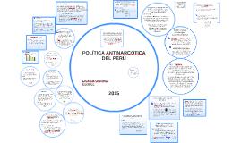 POLÍTICA ANTINARCÓTICA DEL PERÚ