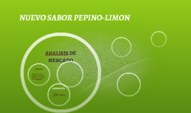NUEVO SABOR PEPINO-LIMON