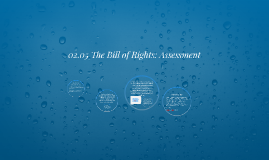 Copy of 02.05 The Bill of Rights: Assessment
