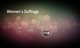 woman´s suffrage