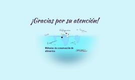 Copy of Métodos de conservacion de alimentos
