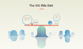 The 100 Mile Diet