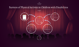 Barriers of physical activity in Children with Disabilities