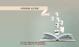 Foodie Guide