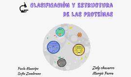 CLASIFICACIÓN Y ESTRUCTURA DE LAS PROTEÍNAS