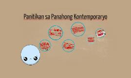 Copy of Panitikan sa Panahong Kontemporaryo