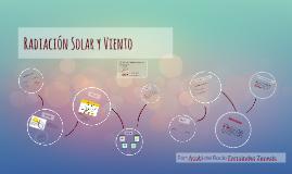 radiación solar y viento