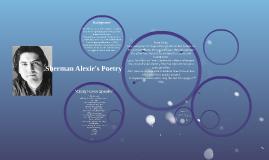 Sherman Alexie's Poetry
