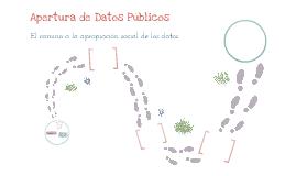 Innovación con los pies en la tierra: Apertura de Datos Públicos; el camino a la apropiación social de los datos