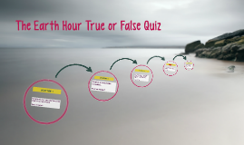 The Earth Hour Quiz