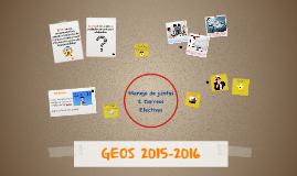 GEOS 2015-2016