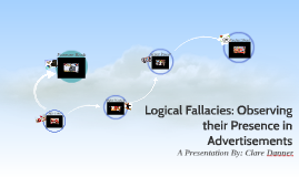 Logical Fallacies: Observing Their Presence in Advertisements