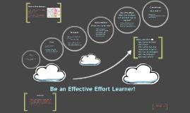 Effective Effort Presentation